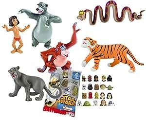 Set 6 personaggi Bullyland Il Libro Della Giungla - Mowgli