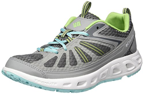 Columbia Vent Master, Chaussures Multisport Outdoor Femme Gris (Monument/ocean Water 036)