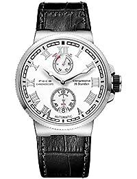 7773e3898196 FEICE Relojes Mecánico Automatico de Hombres Impermeables Ocasionales Reloj  de Pulsera Deportivos Casuales Análogos ...