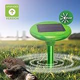 Vensmile Solar Sonic anti per talpe deterrente Gopher allontanare arvicole ratti e topi Outdoor roditore CHASER Spike immagine