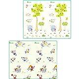 XC Faltende Baby-kriechende Matten-Kleinkinder Und Kinder Klettern Auflage-Schaum-Matten-Wohnzimmer (Farbe : B, größe : 200cm*150cm*1cm)