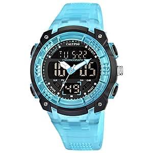 Calypso watches Jungen-Armbanduhr Digital Quarz Plastik K5601/2