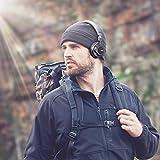 AUKEY Auriculares Bluetooth On Ear con Micrófono Hi-Fi Deep Bass Auricular Inalámbricos Sobre El Oído, Cómodo Protein Earpads, 18 Horas Reproducción de Música