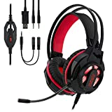 EMPIRE GAMING - Casque Gamer H400 avec Micro Flexible – Jeux PC, PS4, Xbox,...