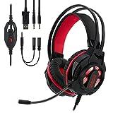 EMPIRE GAMING - Auriculares gamer con micrófono flexible H400 –...