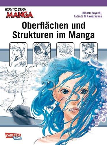 Oberflächen und Strukturen im Manga (How To Draw Manga)