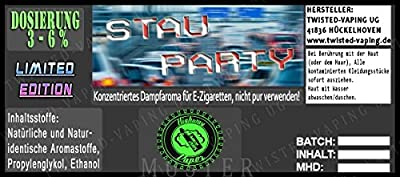 Twisted Road Trip Aroma Stauparty von Twisted Vaping
