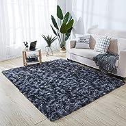 Area Rug, Soft Fluffy Rugs Floor Mat Modern Carpet Ultra Soft Comfy for Bedroom Living Room Kids Playroom Hote