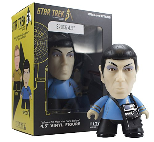 Star Trek The Original Series Spock 4.5 'Titans Vinyl Figure