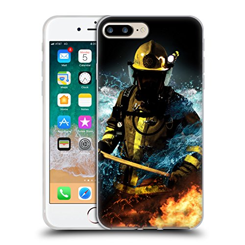 coque pompier iphone 8