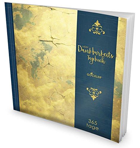 GOCKLER® Dankbarkeits-Tagebuch: 365 Tage Erfolgs-Journal für mehr Achtsamkeit, Bewusstsein & Glück im Leben +++ NEUE AUFLAGE mit glänzendem Softcover +++ DesignArt.: Vintage Himmel