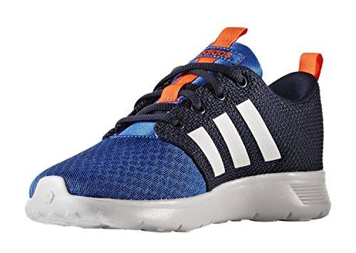 adidas Swifty K, Chaussures de Tennis Mixte Enfant Bleu (Azul/ftwbla/maruni)