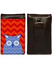Nutcase Designer Travel Waist Mobile Pouch Bag For Men, Fanny Pack With Belt Loop & Neck Strap-High Quality PU... - B075MBB1GL