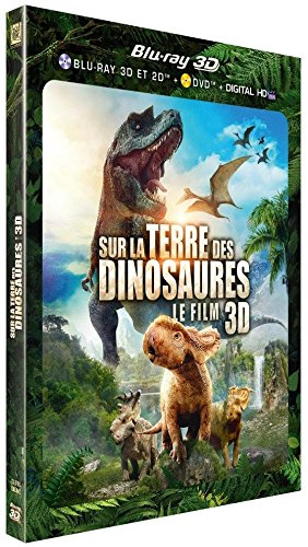 Sur la terre des dinosaures 3D - combo blu-ray 3D + blu-ray + DVD (+ copie digitale uv)