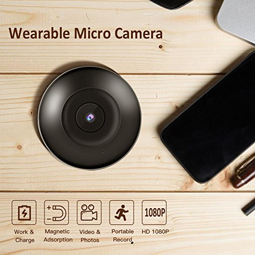 BJESSENCE 1PC cámara micro HD 1080P usable DV DVR cámara cámara de grabación de movimiento para el registro de monitoreo