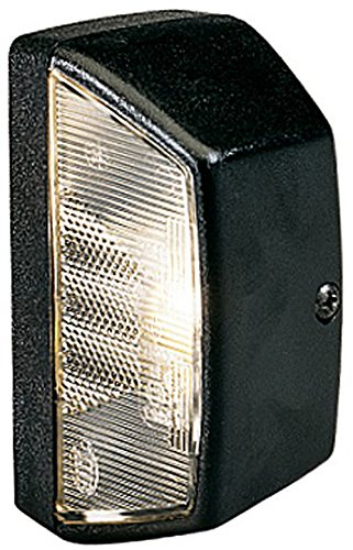 Preisvergleich Produktbild HELLA 2KA 003 389-062 Kennzeichenleuchte,  mit Kennzeichenlicht,  Anbau hinten links / rechts mit Flachstecker,  R10W,  12 / 24 V