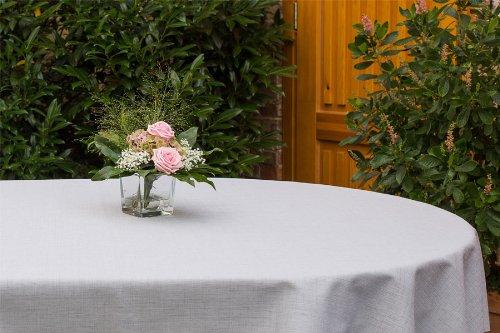 Garten-Tischdecke ABWASCHBAR mit Acryl und BLEIBAND, Form und Größe sowie Farbe wählbar, Maße:...