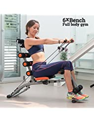 OEM 6XBench - Banco de musculación, color negro