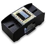 2 x HC-Handel 910913 Kartenmischer Mischgerät Karten Mischer 2 Decks