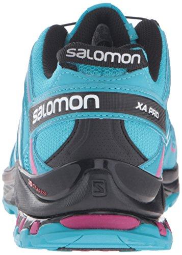 Salomon XA PRO 3D Damen Traillaufschuhe Blau (Blue Jay/Black/Deep Dalhia)