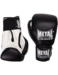Metal Boxe MB221 - Guantes de boxeo, color negro - negro, tamaño 8 oz