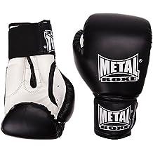 Metal Boxe MB221 - Guantes de boxeo, color negro - negro, tamaño 6 oz