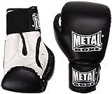 Metal Boxe PB480 - Guantes de boxeo, color negro - negro, tamaño 6 oz