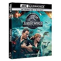 Jurassic World: Il Regno Distrutto (Blu-Ray 4K Ultra HD+Blu-Ray) [Italia] [Blu-ray]