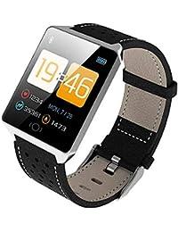 iBaste_top Reloj Inteligente Para Sanda Reloj Inteligente con Pantalla Táctil Monitor de Frecuencia Cardíaca Impermeable Presión