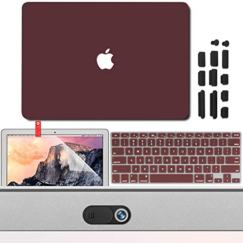 MBA3IN1 rot 3 in 1 Burgundy Protection Kit Old Version MacBook Air 13