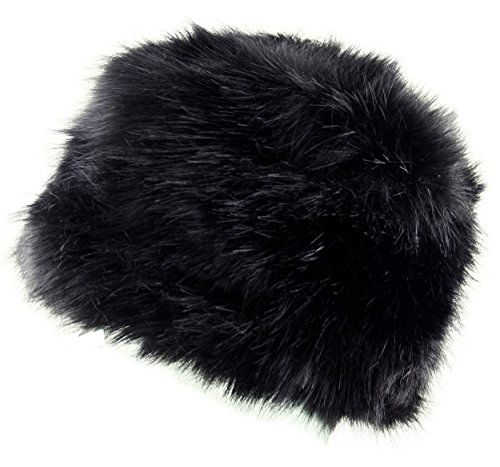 Itzu Ladies Womens Luxury Faux Fur Russian Cossack Hat Ski Winter Warm Cosy Lined in 9 Colours Test