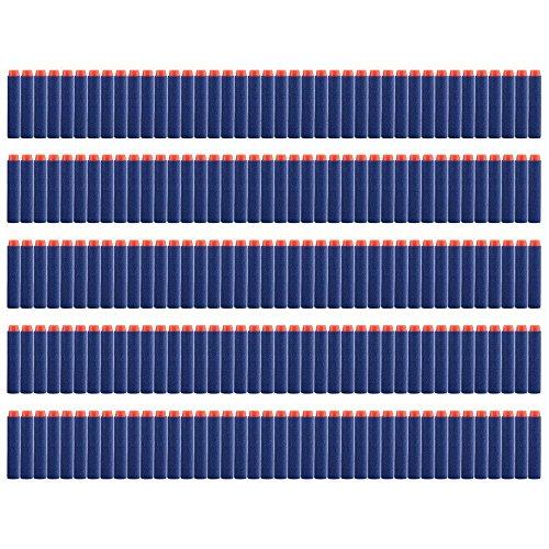 vanka-200pcs-dart-refill-pack-for-n-strike-elite-blaster-blue