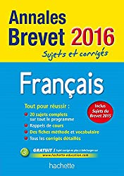 Annales 2016 Français 3E