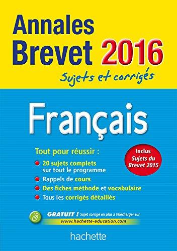 Français : Sujets et corrigés par Brigitte Réauté, Michèle Laskar
