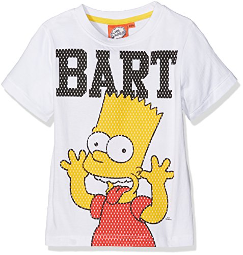 the-simpsons-smcl27110-t-shirt-garcon-blanc-white-12-ans-taille-fabricant-12-ans