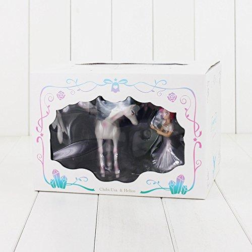 12 cm Anime Sailor Moon Figur Spielzeug Prinzessin Serenity Einhorn Kostüm Figuarts Zero Beauty Modell Puppe Mit Basis, Stil B