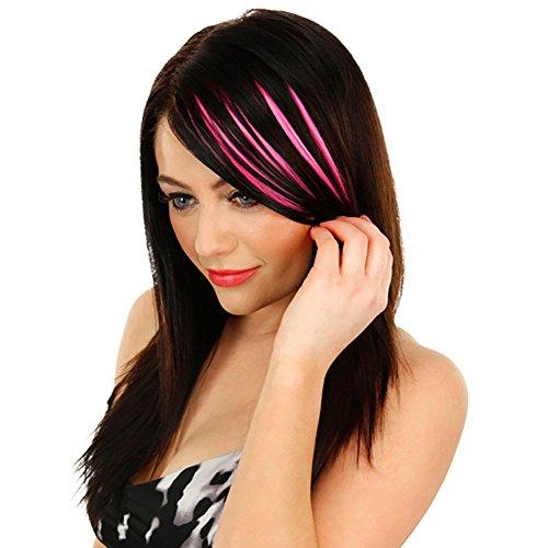 LSAltd 2019 heiße Mode Pretty Girls Clip On Clip Vorne Hitzebeständige Faser Hair Bang Fringe Hair Extension Piece Thin