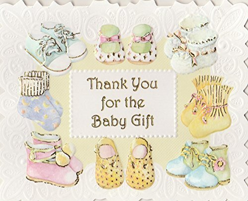 Carol Wilson Baby Gift Thank You Boxed Note Cards and Envelopes 10 ct. by