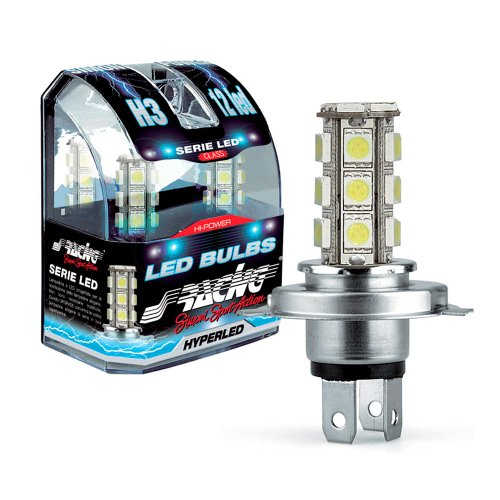Simoni Racing Ls7 Kit 2 Lampadine Tipo H7 12V 18 Led