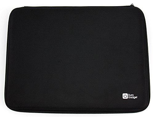 DURAGADGET Praktische 7 Zoll Eva Hard Case (Hartschalen-Etui) für Lenovo Tab 3 7 Zoll, Tab 2 A7-10, Lenovo Tab 2 A7-20, Lenovo Tab A7-30 A3300 und Lenovo Tab A7-50 A3500 Tablets (Schwarz)
