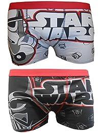 Star Wars Homme Boxer Shorts Deux Pack