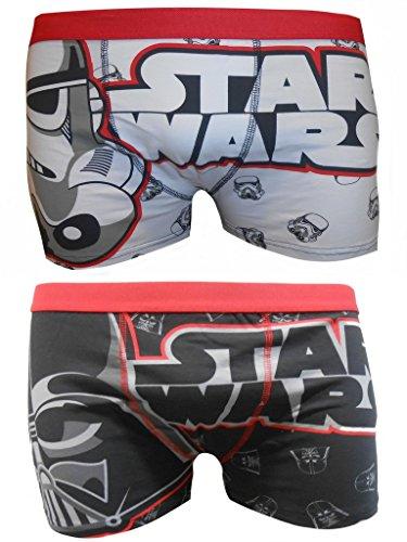 Star Wars Mens Boxer in confezione da due - M
