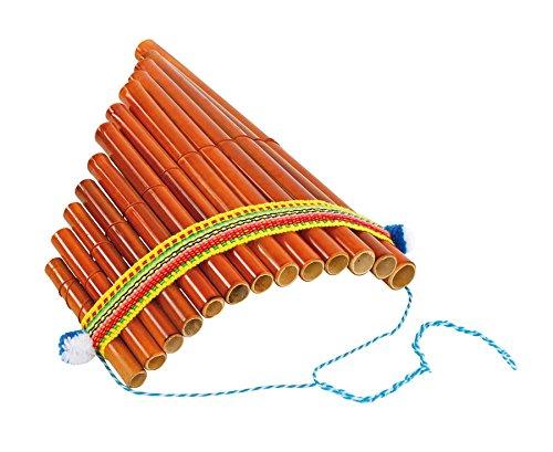 Betzold Musik 84411 - Peruanische Panflöte Bambus - Flöte-n Pan Musik-Instrumente Kinder Blasinstrumente Schule Schüler Musik-Unterricht Musikschule lernen