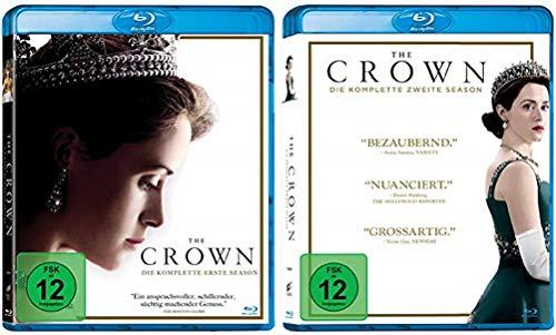The Crown Staffel 1+2 [Blu-ray Set]