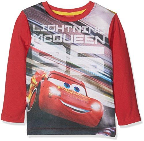Disney-Cars-74488-T-Shirt-Bambino-Rot-Rot-931-4-anni