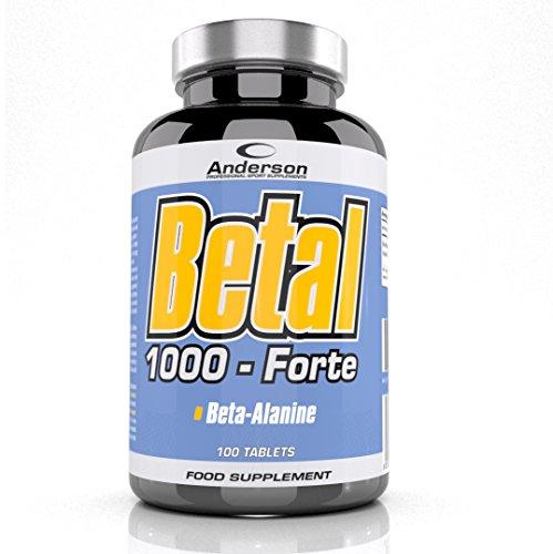 Anderson Betal 1000 Forte 100 cpr Beta Alanina da 1gr + Vitamina B6 -