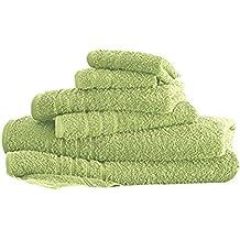 Costa del Pacífico Textiles 600 gsm 100% SPA Collection algodón sólido Juego de Toallas,