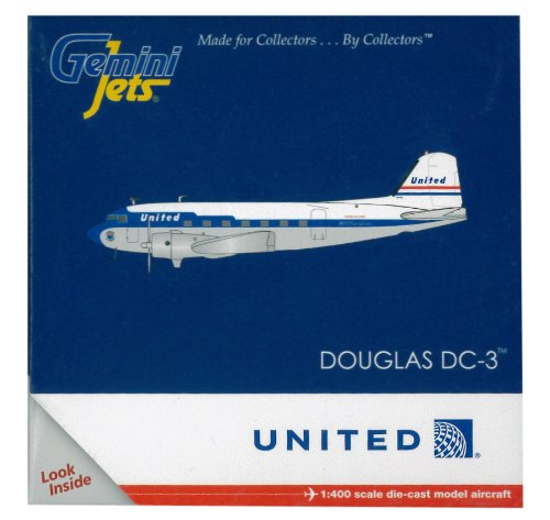 gemini-jets-gjual1109-united-airlines-douglas-dc-3-1400-diecast-model