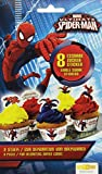 Dekoback Zucker-Sticker Spiderman, 3er Pack (3 x 9 g)