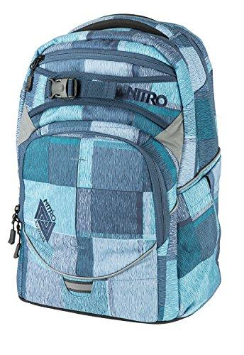 Nitro Snowboards 2018 Rucksack, 44 cm, 30 liters, Blau (Zebra Ice) (Scout Burton)